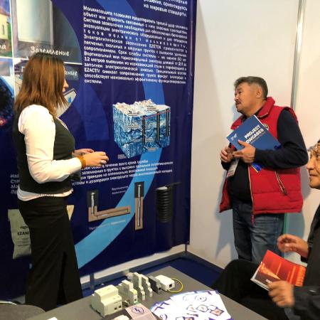 Компания EZETEK на выставке «Powerexpo Almaty 2018»