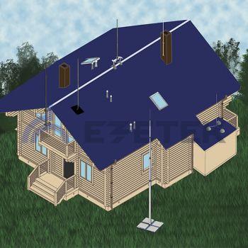Молниеотводы для частных домов