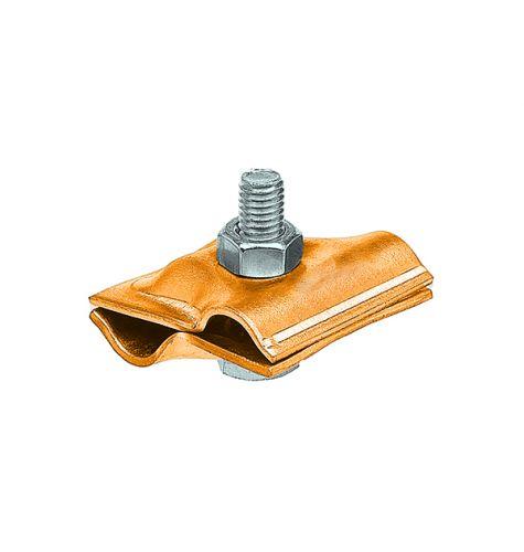 Зажим соединительный круглого проводника 8-10 мм, латунь