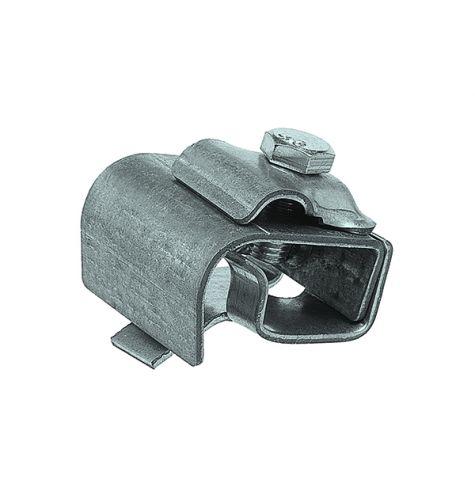 Держатель проводника круглого 8-10 мм для желоба водостока, оцинк.