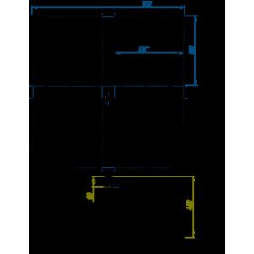 Основание под утяжелители для мачты СМЛ до 9.1 м