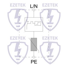 УЗИП EZ LS 40/150