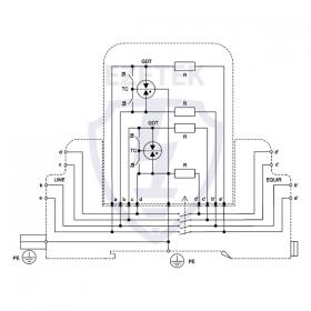 УЗИП EZR2 110M (Сменный модуль)