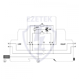 УЗИП NZC 5M (Сменный модуль)
