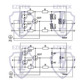 УЗИП VZE 15 (Сменный модуль)