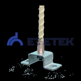 Держатель изолированного токоотвода 14-16 мм (750 мм), оцинк.