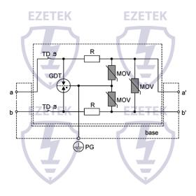 УЗИП IZM 60 (Сменный модуль)